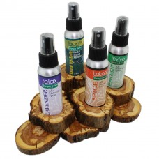 Wood Display for Sprays