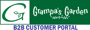 Grampa's Garden Inc - Wholesale B2B Orders